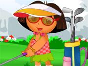 Dóra és a golf ruha