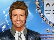 Justin Timberlake Makeover-varázslatos smink