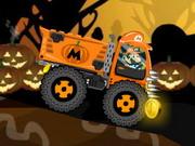 Márió Halloween traktorja