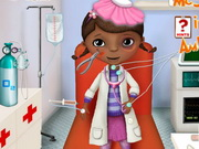 McStuffins In The Ambulance