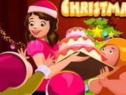 Boldog Karácsonyt torta!