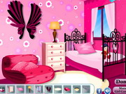 Pink Teen Bedroom Decoration