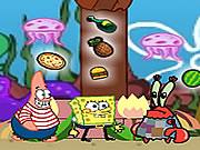 Spongyabob gyűjtögetős - Spongyabob kockanadrág ingyen online flash játékok