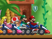 Game Super Mario racing 3