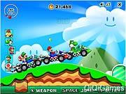 Super Mario Racing ingyen online flash játékok