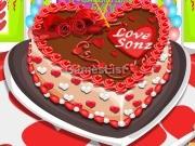 Valentin napi süti díszítés