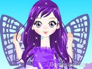 Purple Butterfly Dress up