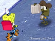 Sponge Bob Square Pants: Pizza Toss