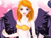 Play Leane Angel Dressup