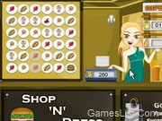 Shop N Dress Food Roll Game: One Shoulder Dress
