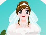 White Bridal Dressup