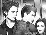 Színezd Edwardot és Bellát