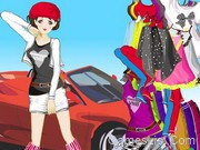 Car Girl Fashion