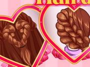 Valentin napi frizura