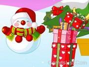 Karácsonyi képeslap dekoráció